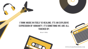 Qoute on music by Billy Joel