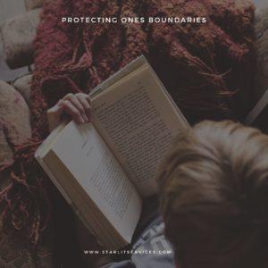 Protecting one's boundaries