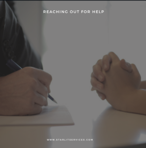reaching out for help